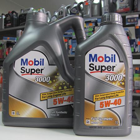 Mobil super 5000 5W-40