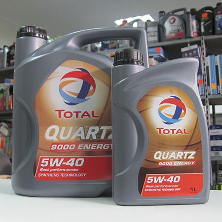 Total Quatz 5W-40